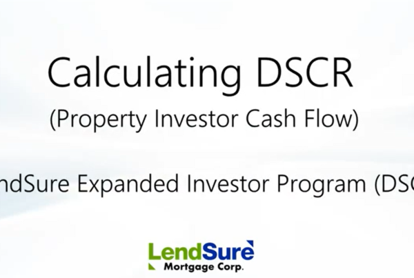 Learn how to calculate DSCR with this video